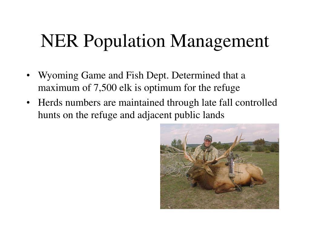 NER Population Management