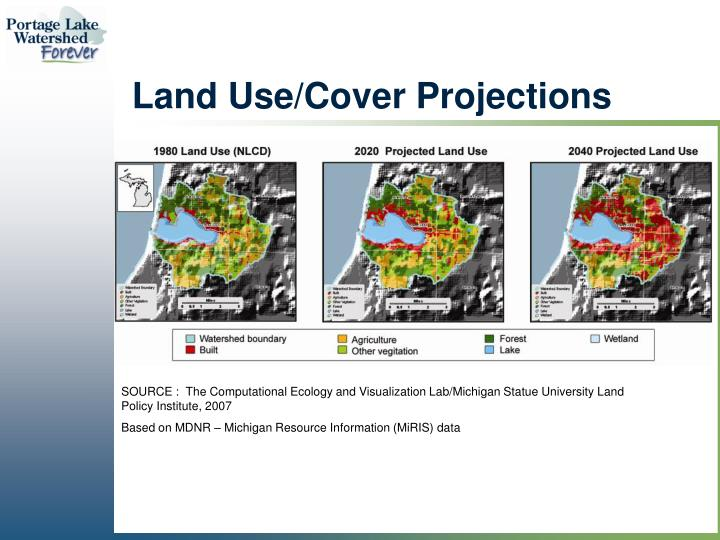 Land Use/Cover Projections