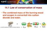 14 1 law of conservation of mass1