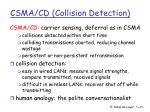 csma cd collision detection