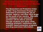 benevolent and protective order of elks drug awareness program mission statement