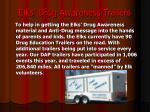 elks drug awareness trailers