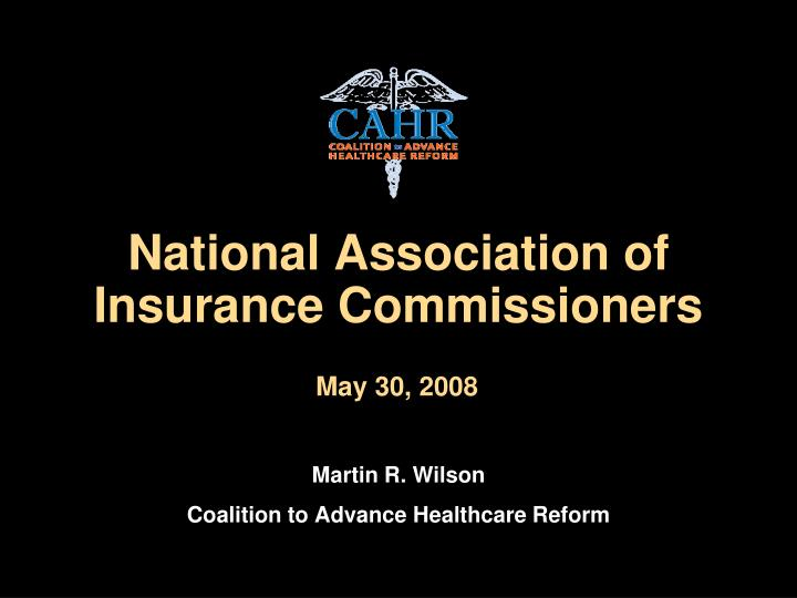 national association of insurance commissioners n.