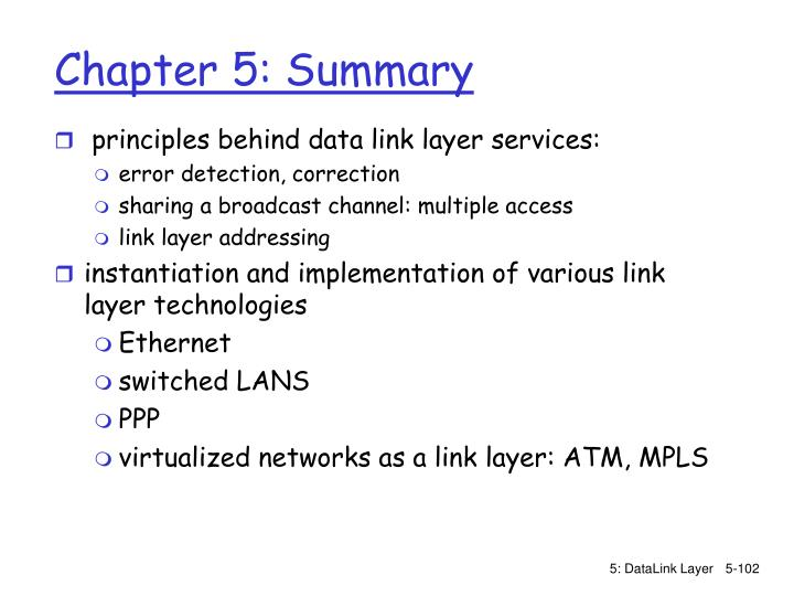 principles behind data link layer services: