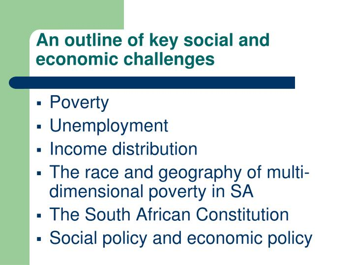 why is poverty a problem in south africa