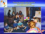 the first paradise kids programs were held in a private house in tallebudgera in 1997