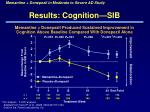results cognition sib2