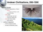 andean civilizations 200 1500