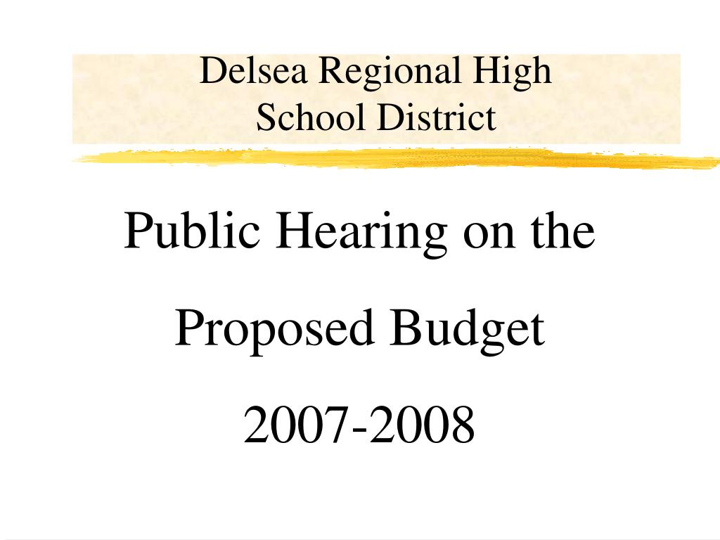 delsea regional high school district l.