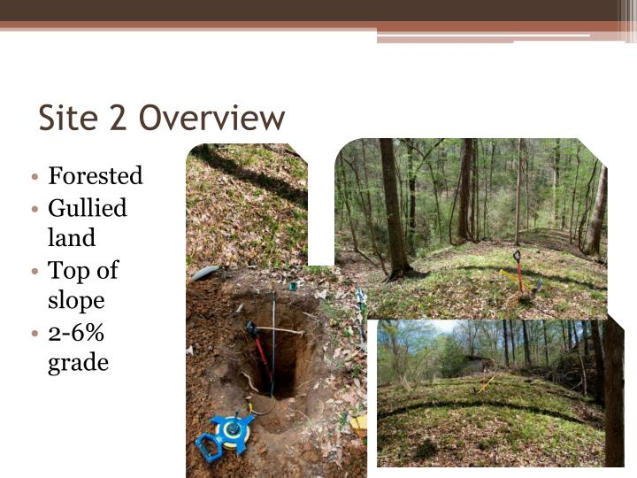 Site 2 Overview