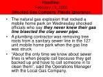 headline february 16 2002 shocked gas company pleads ignorance