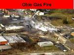 ohio gas fire