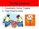 the big concerns
