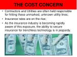 the cost concern