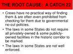 the root cause a catch 22