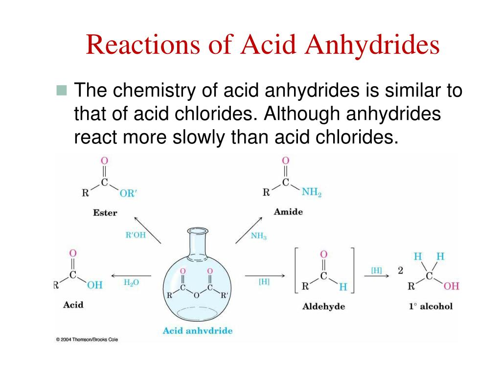 PPT - Chapter 21  Carboxylic Acid Derivatives and