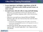 ultra dma timing precautions16