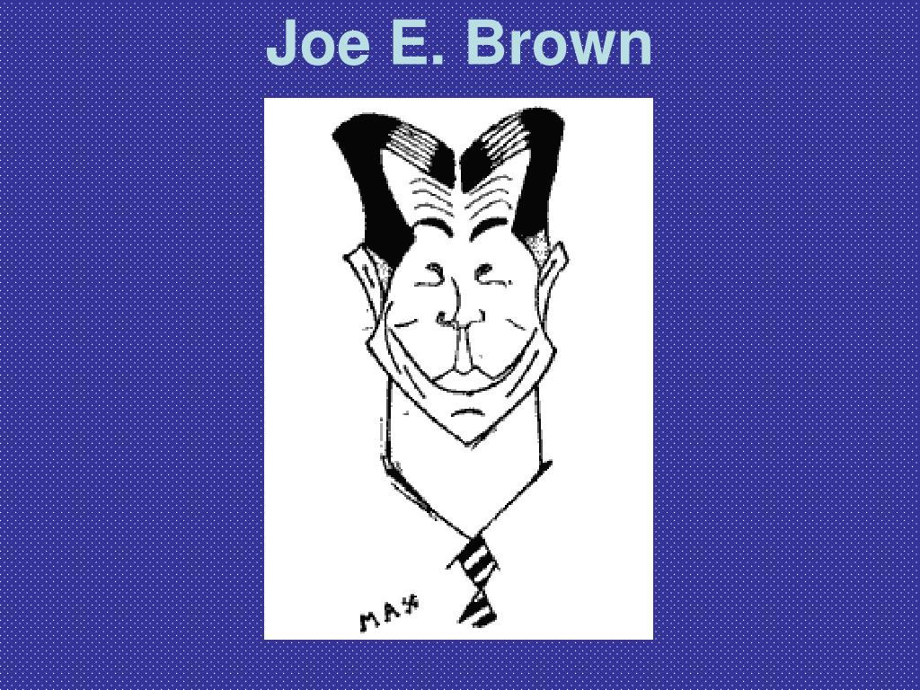Joe E. Brown