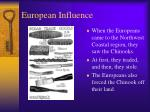 european influence