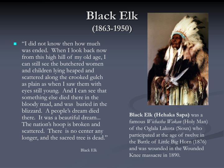 Black elk 1863 1950