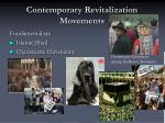contemporary revitalization movements