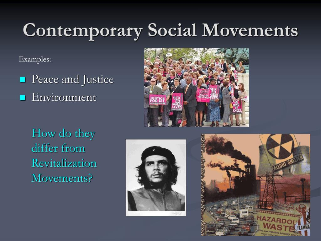 Contemporary Social Movements