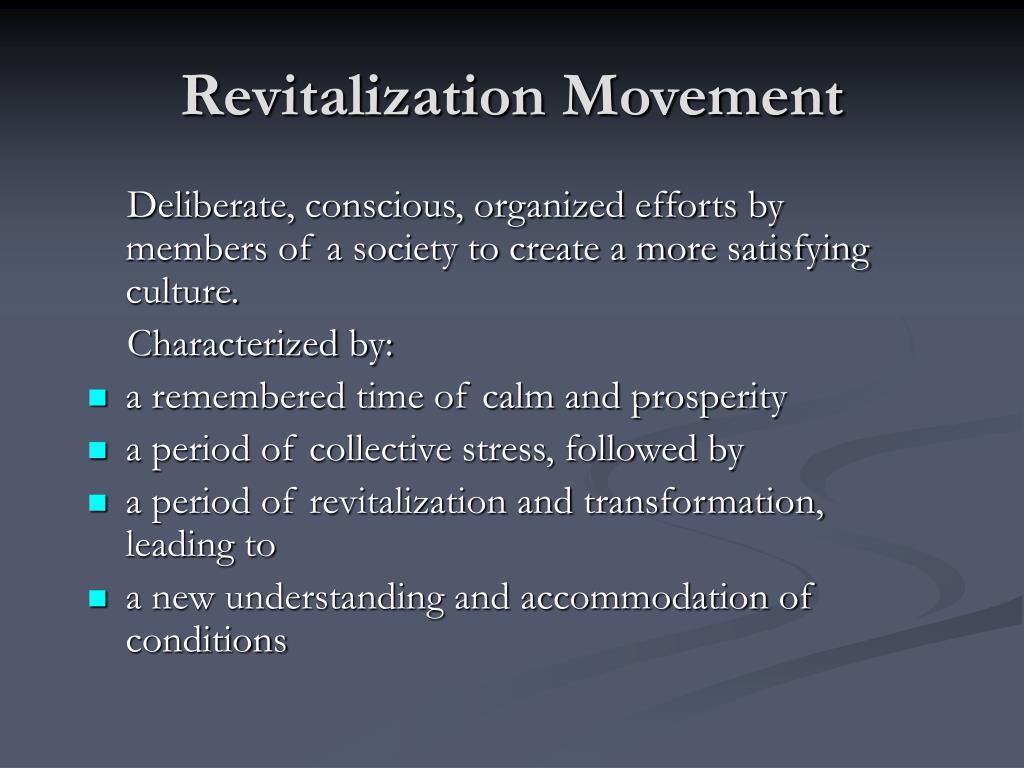 Revitalization Movement
