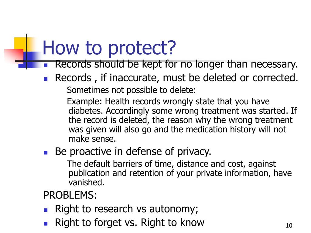How to protect?