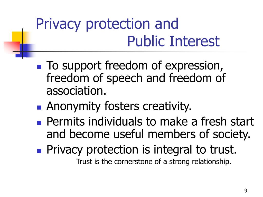 Privacy protection and