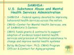 samhsa u s substance abuse and mental health services administration