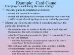 example card game