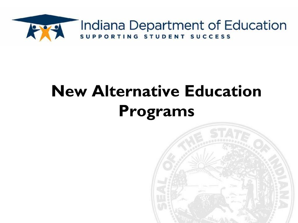 new alternative education programs l.