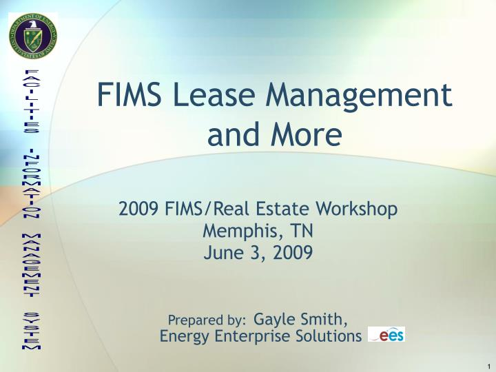 Fims lease management and more