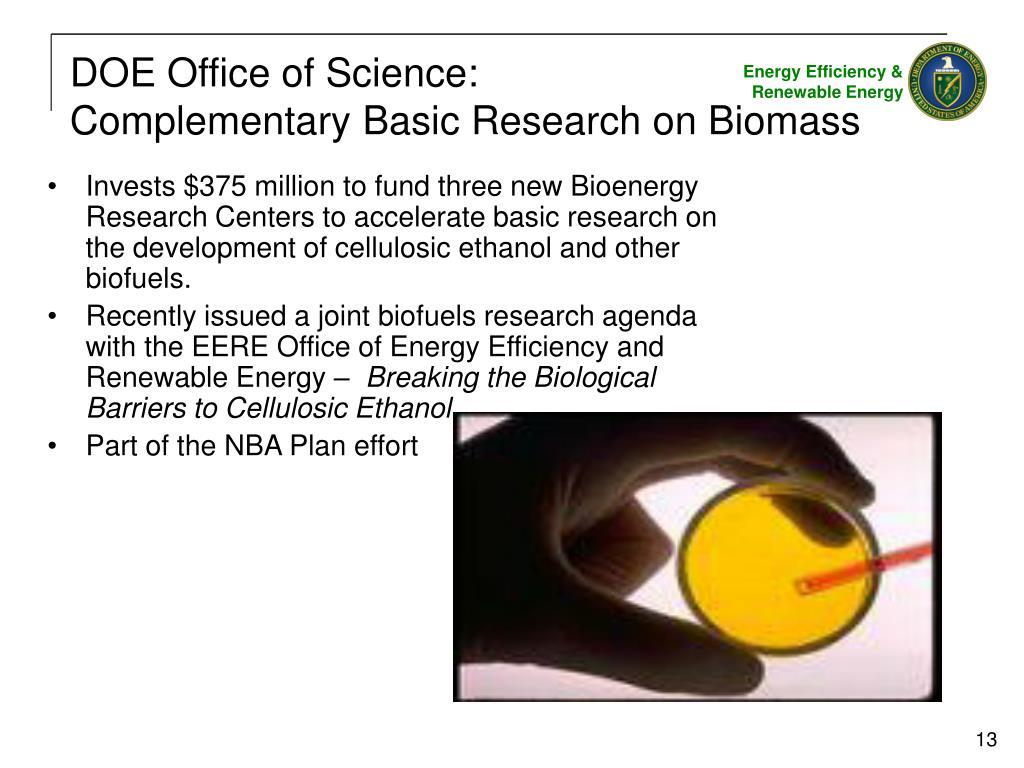 DOE Office of Science: