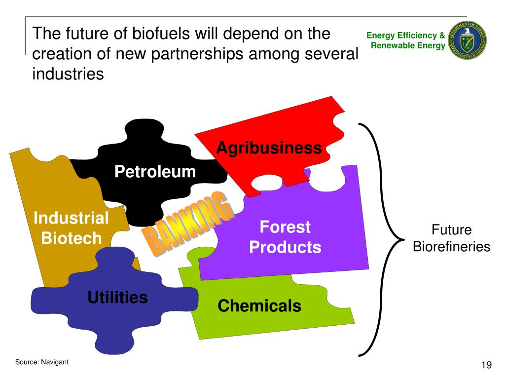 The future of biofuels will depend on the creation of new partnerships among several industries