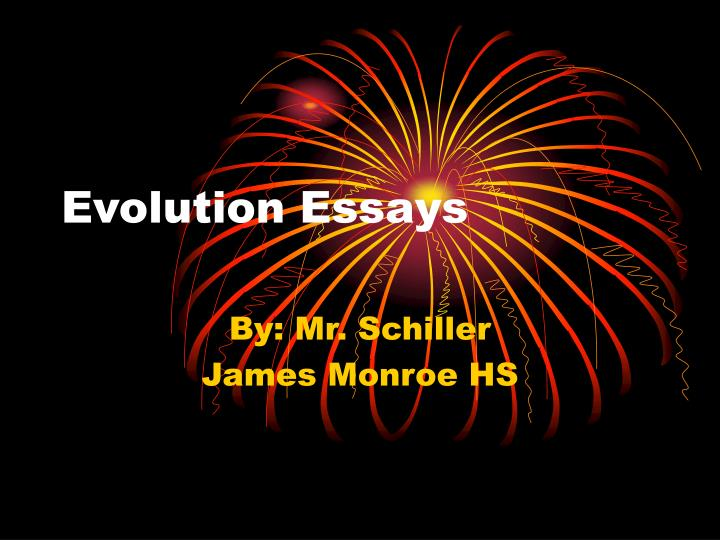 ppt evolution essays powerpoint presentation id  evolution essays