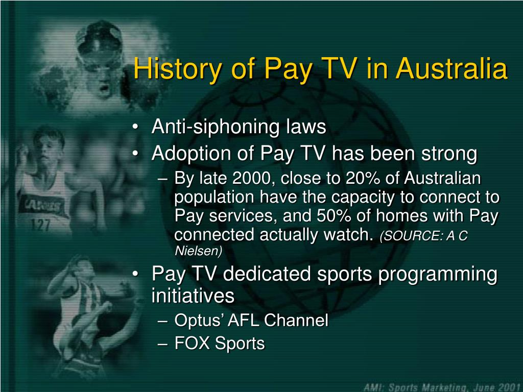 History of Pay TV in Australia