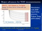 major advances for tof measurements5