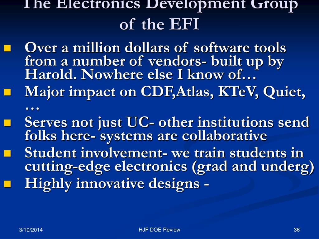 The Electronics Development Group