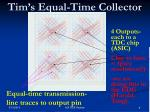 tim s equal time collector