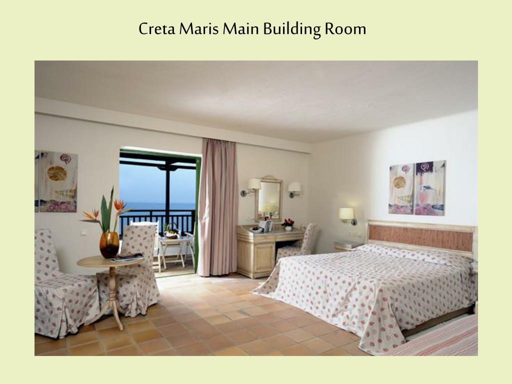 Creta Maris Main Building Room