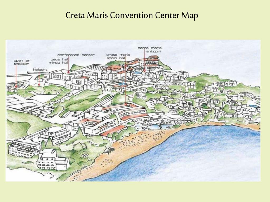 Creta Maris Convention Center Map