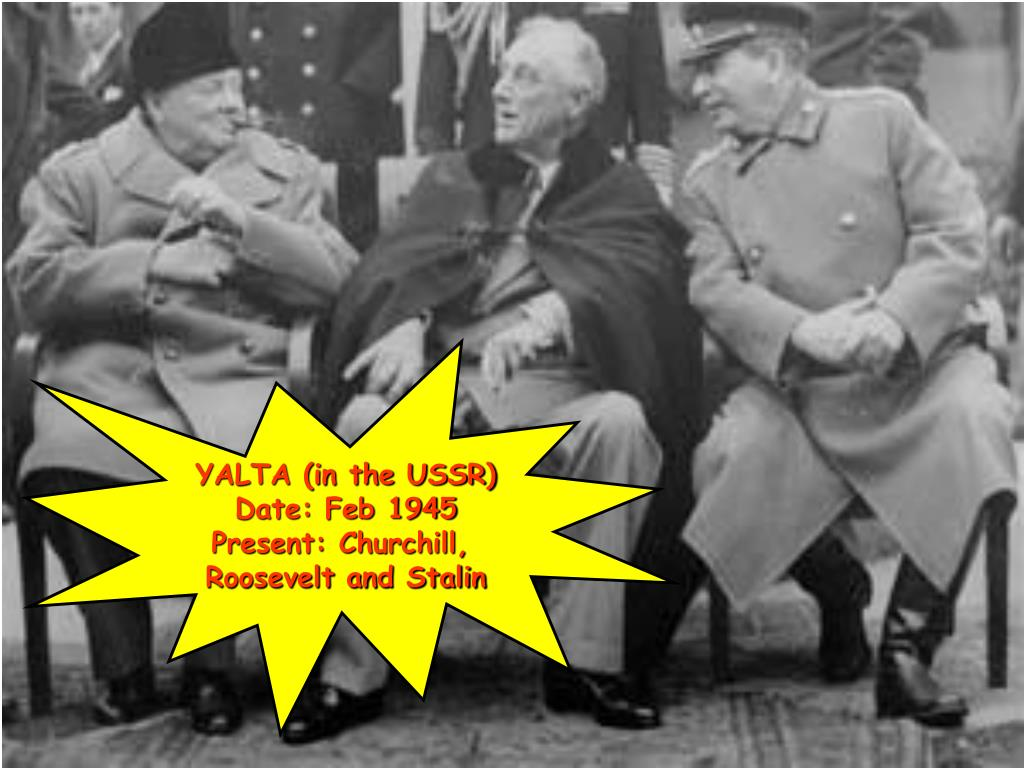 YALTA (in the USSR)