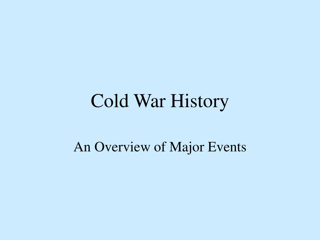 cold war history l.