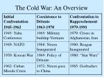 the cold war an overview