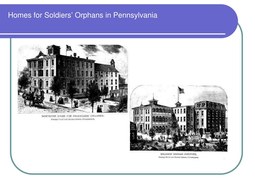 Homes for Soldiers' Orphans in Pennsylvania