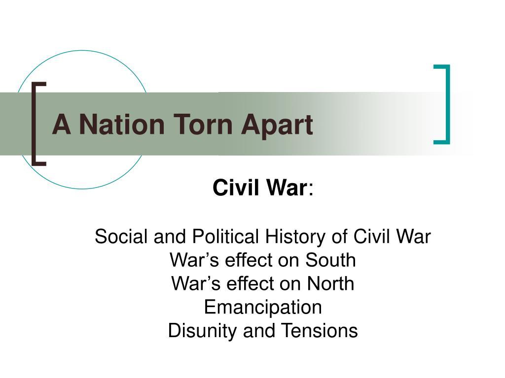 a nation torn apart l.