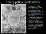emancipation proclamation29