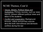 nche themes cont d