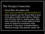 the georgia connection